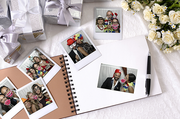 photobooth originale con album e bomboniera